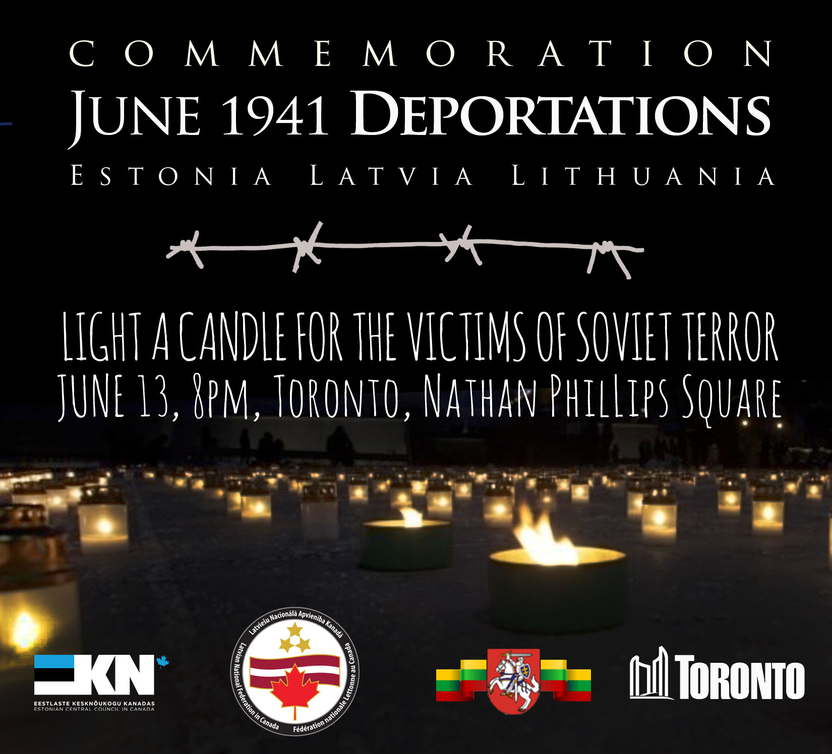 Baltic deportation commemoration525